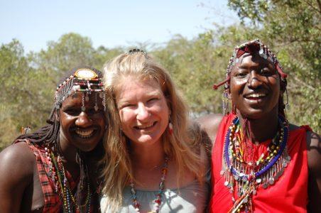 Art Safari Director in Kenya with Massai guides