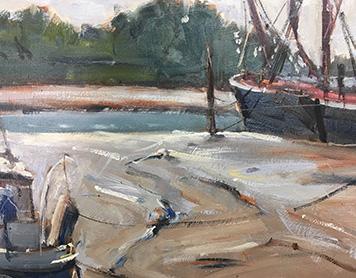 Oil Painting en plein air