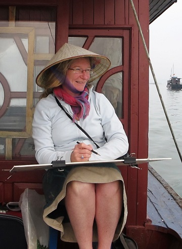 Art Safari Cambodia, Mary-Anne Bartlett