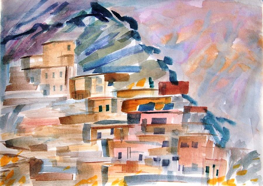 Art Safari Morocco, Atlas Village, Mary-Anne Bartlett