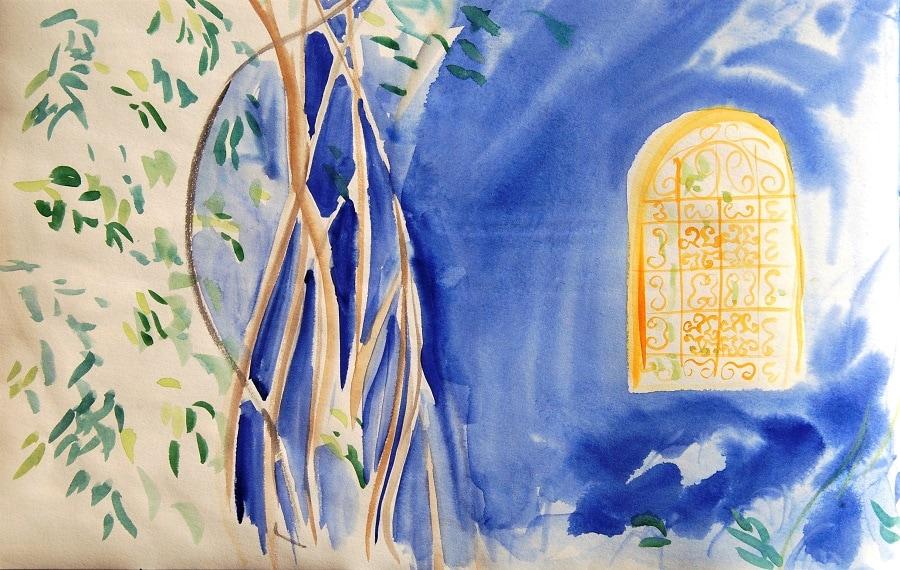 Art Safari Morocco, Jardin Majorelle, Mary-Anne Bartlett