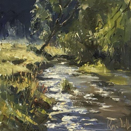Art Safari, Roger Dellar, Mist over water Devon