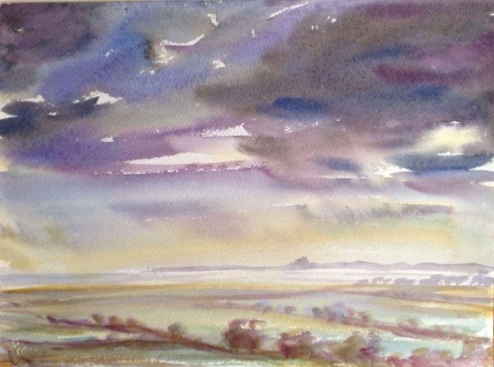 Art Safari, Northumberland Skies, Karen Pearson