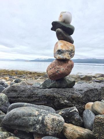 Art Safari Norway pebble stack