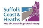 This project has been (part)* funded by the Suffolk Coast & Heaths AONB logo