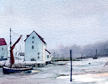 Time and Tide – sketching Woodbridge Tide Mill (Virtual)