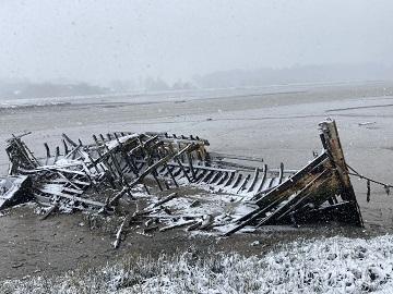 Shipwreck, River Deben