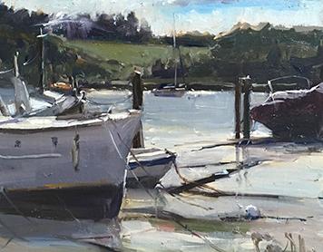 Plein Air Oil Painting in Suffolk