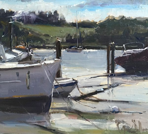 River Deben by Roger Dellar