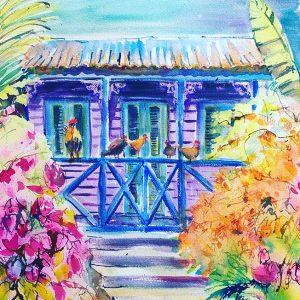 Barbados chattel house, Karen Pearson