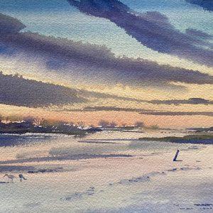 River Deben by Mary-Anne Bartlett