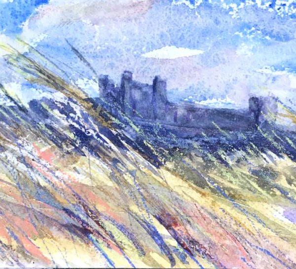 Bamburgh Castle by Karen Pearson