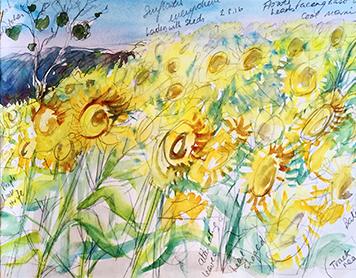 Karen Pearson, Sunflowers