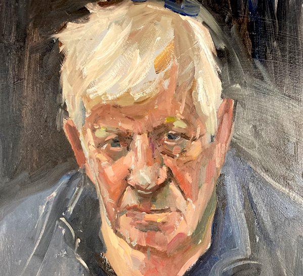 Portrait of a gentleman by Roger Dellar