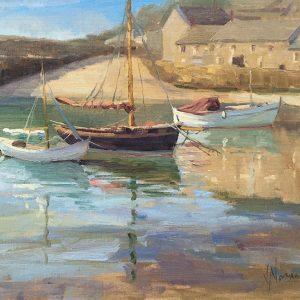 Cornish harbour, Vicki Norman